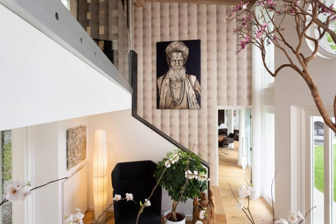 Interior photography of entrance hall